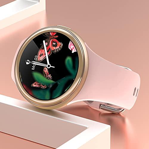 LEMFO Smartwatch Damen, IP68 Wasserdicht Fitness Tracker smart...
