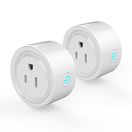 pedkit WLAN-Steckdose WLAN, Steckdose, 2Pcs WiFi Plug Wi-Fi...