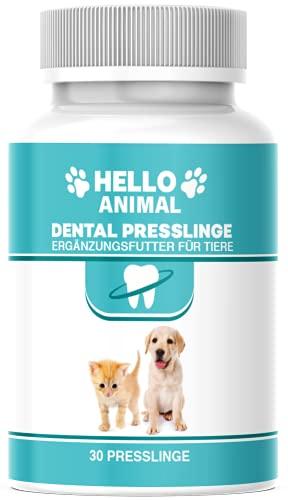 NEU: HelloAnimal® DENTAL Presslinge für Hunde und Katzen –...