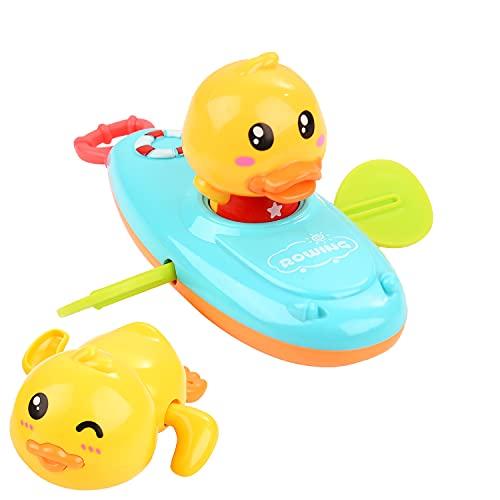 Herefun Baby Badespielzeug, 2 Pcs Badewanne Ente Spielzeug,...