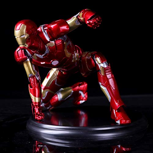 Avengers Iron Man Actionfigur Iron Man, Maßstab 1/6, lackiert, PVC, 18 cm (Farbe: mit...