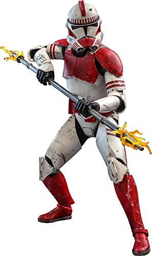 Hot Toys Star Wars The Clone Wars Coruscant Guard Clone Trooper...