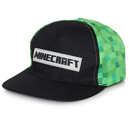 Minecraft Hut Für Kinder Cap Jungen | Mit Logo, Schwarz Und...