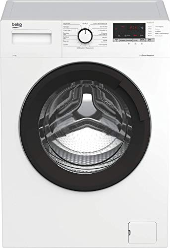 Beko WML81434NPS1 Waschmaschine/ Restzeitanzeige und...