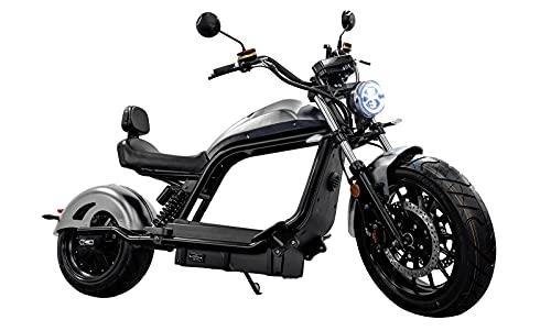 Elektroroller mit Straßenzulassung Chopper X11, 45 km/h, Roller,...