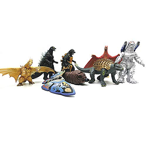 MINGZE 8 Pcs Godzilla King of Monsters Spielzeug, König der...