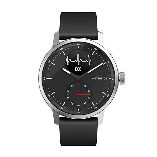 Withings ScanWatch Hybrid Smartwatch mit EKG, Herzfrequenzsensor...