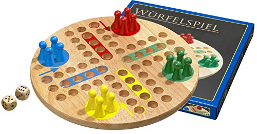 Philos 3303 - Würfelspiel, Ludo, groß, mit Spielfiguren und...