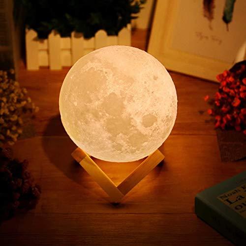 3D Mond Lampe 15cm/5.91' Light Moonlamp, AGM Helligkeit Led...