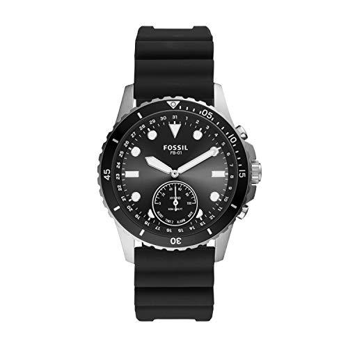 Fossil Hybrid Smartwatch Silikon Schwarz
