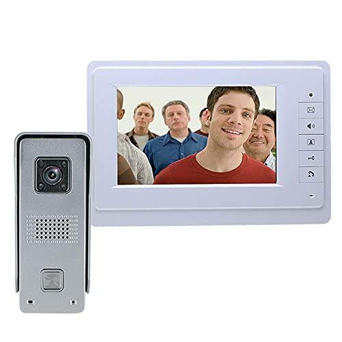 Video Türsprechanlage LCD Gegensprechanlage Haustür Klingel...