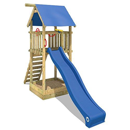 WICKEY Kletterturm Smart Tower Spielturm Holzspielgerät mit...