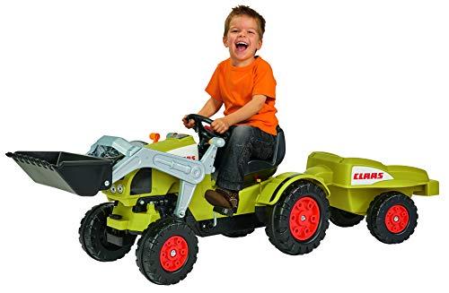 BIG - Claas Celtis Loader mit Anhänger - Kindertrettraktoren,...