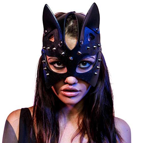 Holmeey Karneval Maskerade Maske Masquerade Mask Katzenmaske...
