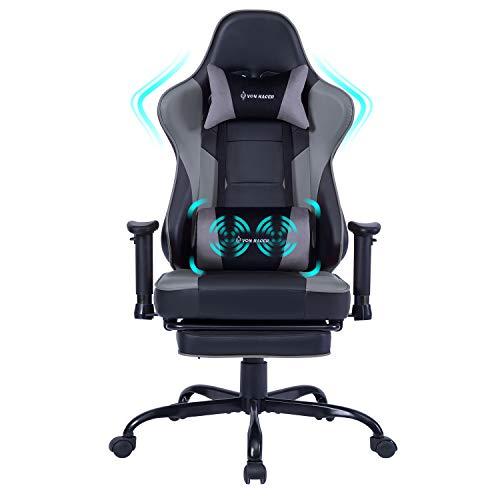 Gaming Stuhl Bürostuhl Ergonomischer mit Massage...
