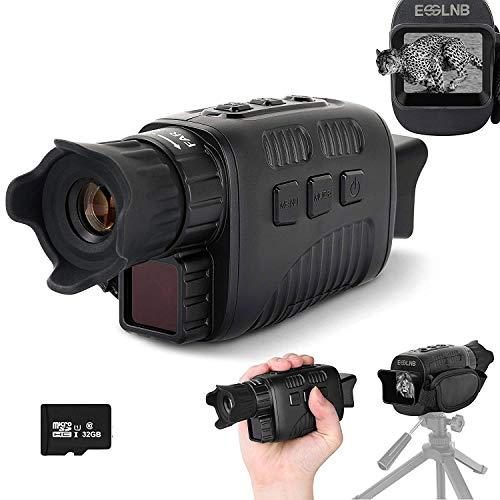 ESSLNB Nachtsichtgerät Infrarot 10X Vergrößerung mit 32GB...