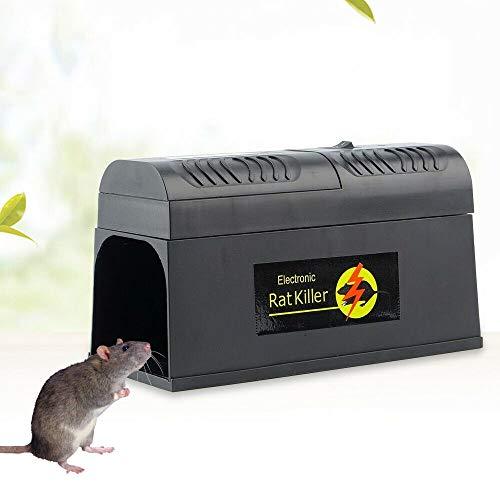 Futchoy 8000V Elektronische Mäusefalle Rattenfalle Killer...