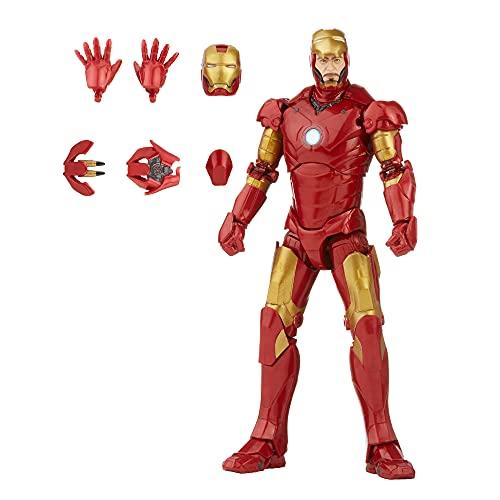 Marvel Hasbro Legends Series 15 cm große Iron Man Mark 3...