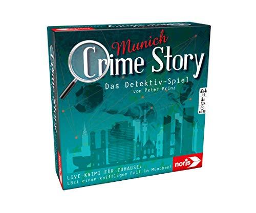 Noris 606201890 Crime Story Munich-Das Detektiv...