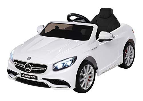 Kinder Elektroauto Mercedes Amg S63 - Lizenziert - 2 x 45 Watt...