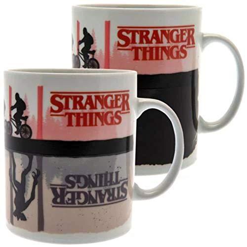 Stranger Things SCMG25280 Mug Thermo-reactif 315ml / 11oz (Upside...