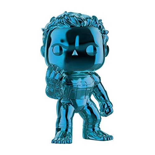 Pop Funko Marvel Avengers 499 Hulk Blue Chrome