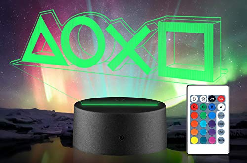 Xpassion Playstation Lampe mit Farbwechsel Funktion 16 Farben...