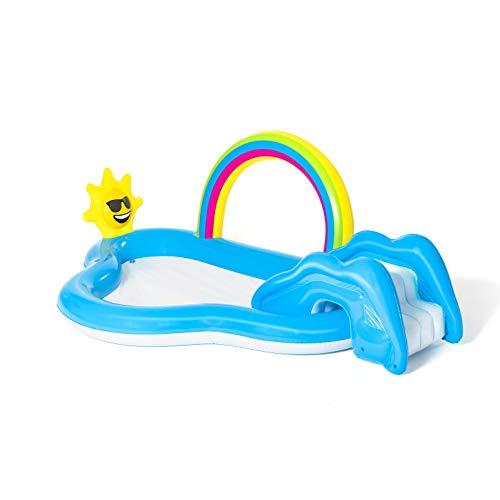Bestway 53092 Wasserspielcenter mit Planschbecken Rainbow n'...