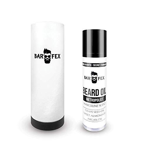 Hochwertiges Bartöl Bio ● Made in Germany ● Bartwuchsmittel...
