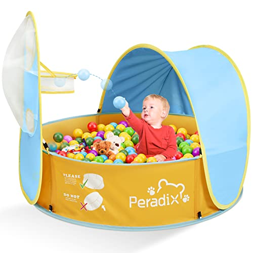 Peradix Baby Zelt Pop Up Bällepool ,Tragbare Kinder Spielzelt...
