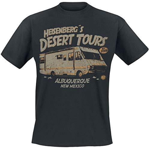 Breaking Bad Heisenberg Desert Tours Männer T-Shirt schwarz L...