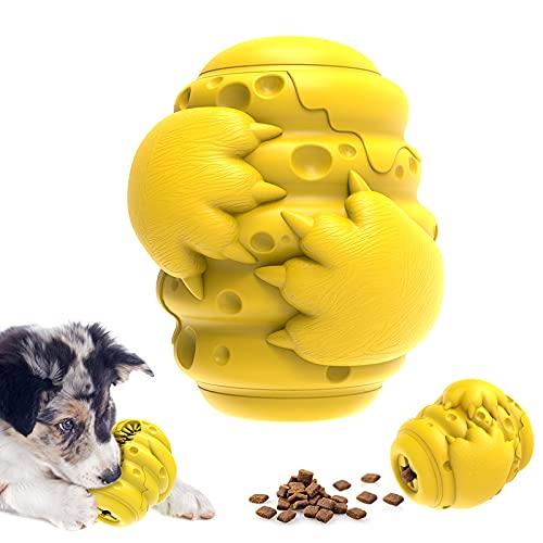 Hundespielzeug unzerstörbar, Kauspielzeug, Leckerli-spender,...
