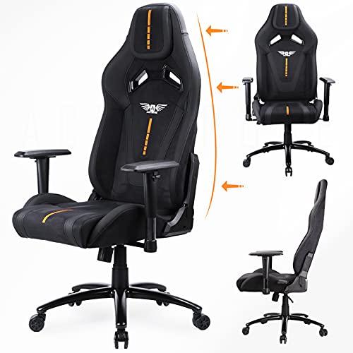 Acethrone Ergonomic Gaming Stuhl, komfortabler Stoff-Gaming-Stuhl...