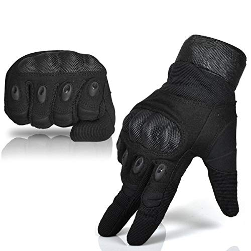 MEIZI Fahrradhandschuhe Fingerlose, Taktische Handschuhe,...