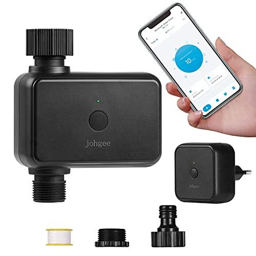 Johgee WLAN-Bewässerungscomputer mit Wi-Fi-Hub, Smart...