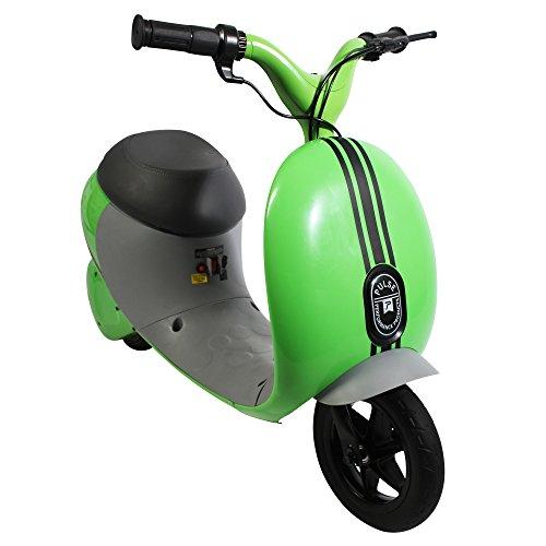 Pulse Performance Products Street Cruiser E-Motorrad, grün