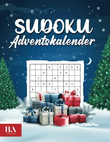 Sudoku Adventskalender 2021: Rätsel Adventskalender für...