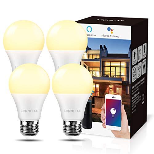 LE E27 Smart Lampe, 9W Smarthome Glühlampen WLAN LED Birnen Wifi...