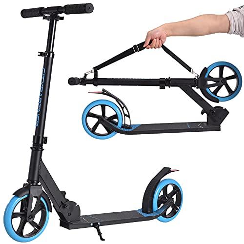 City Roller Scooter Klappbar & Höhenverstellbar Roller für...