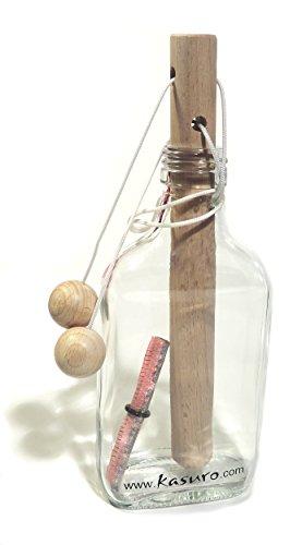 kasuro Flaschensafe Schlinge personalisiert mit eingebranntem...