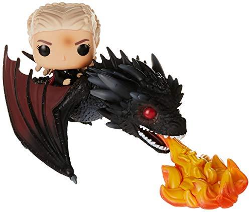 Funko 45338 POP Rides: Game of Thrones-Daenerys on Fiery Drogon...