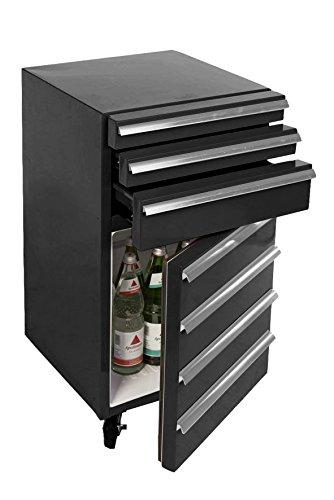 Mini-Kühlschrank für Getränke im retro Werkstattwagen-Look |...