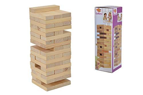 Eichhorn 100002466 Stapelspiel, Geschicklichkeitsspiel für die ganze Familie, Balance Tower...