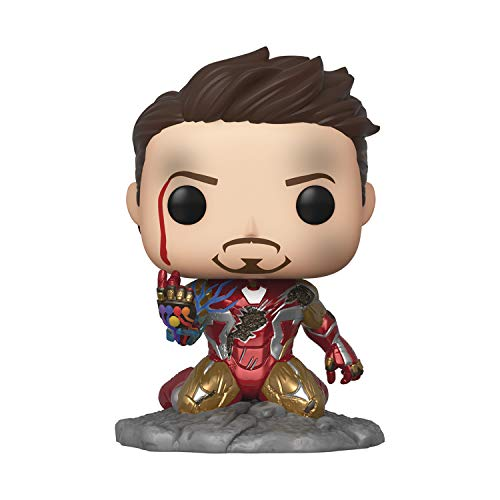 POP Avengers Endgame I Am Iron Man Glow in The Dark Vinyl Figure,...