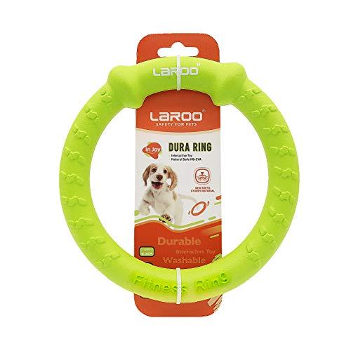 LaRoo Hundefitness-Ring Hundefrisbee, Unzerstörbare Float Hunde...