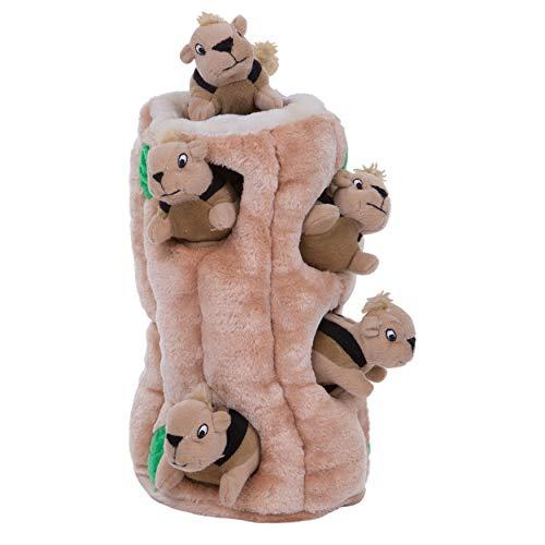 Outward Hound Plüsch-Hundespielzeug Hide-A-Squirrel Squeaky...