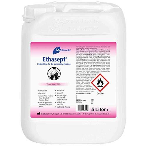 Alerion 5 Liter Kanister Hände Desinfektionsmittel zur Hand...