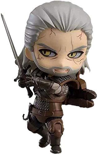 dsfew Anwen Kinder Anime Geschenke The Witcher 3: Wild Hunt Geralt Nendoroid Actionfigur...