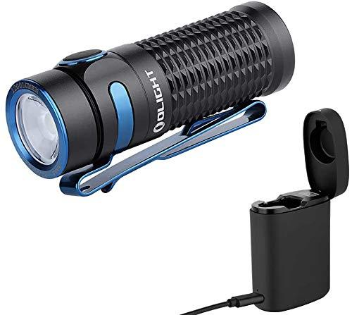 OLIGHT Baton 3 KIT Aufladbare EDC LED Taschenlampe 1200 Lumen,...