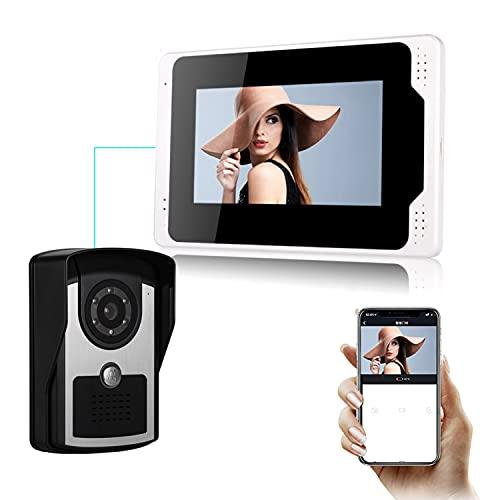 TFACR Video Türklingel Kamera Intercom Entry System, Kabel WiFi...